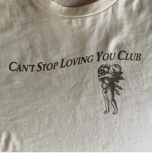 Club, You, and Stop: CAN'T STOP LOVING YOU CLUB