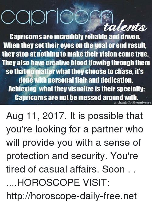 Capricorns Are Incredibly Reliable and Driven When They Set Their