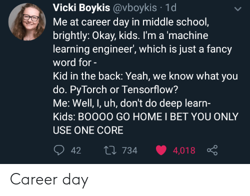 career: Career day
