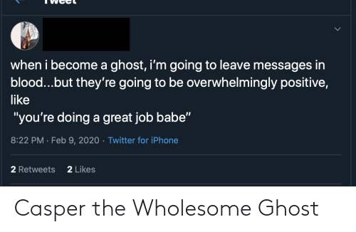 Casper, Ghost, and Wholesome: Casper the Wholesome Ghost