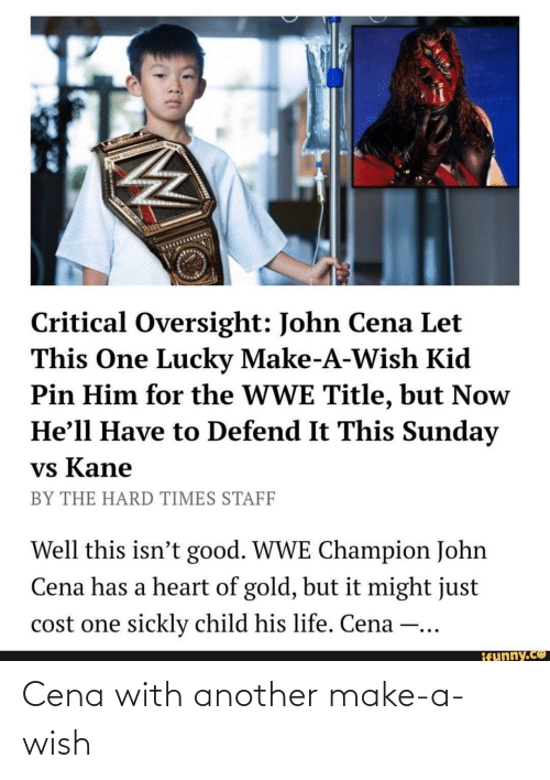 Wish: Cena with another make-a-wish