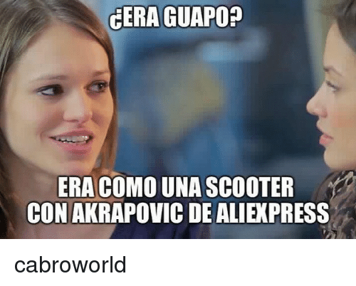 Scooter: CERA GUAPO?  ERA COMO UNA SCOOTER  CON AKRAPOVIC DE ALIEXPRESS cabroworld