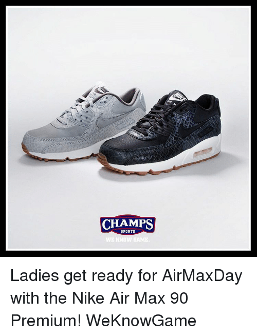 size 40 d713a 9711e Memes, 🤖, and Air  CHAMPS SPORTS WE KNOW GAME. Ladies get ready