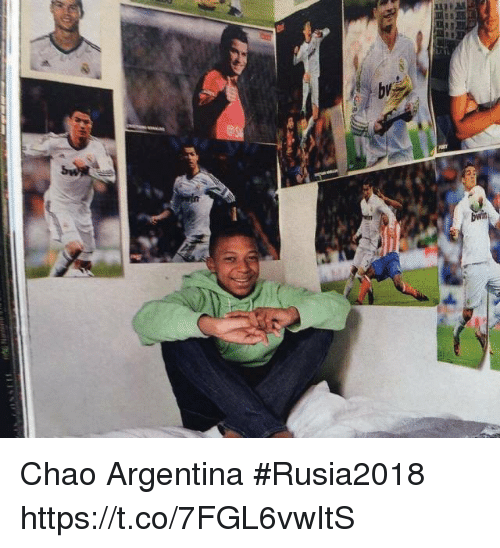 Argentina, Espanol, and International: Chao Argentina   #Rusia2018 https://t.co/7FGL6vwItS