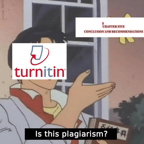 conclusion: CHAPTER FIVE  CONCLUSION AND RECOMMENDATIONS  turnitin  Is this plagiarism?