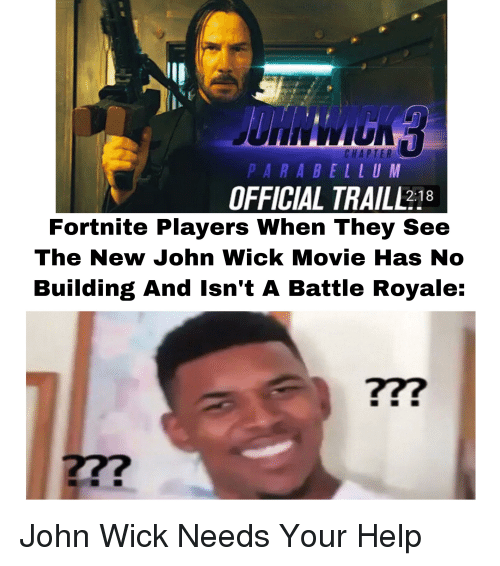 CHAPTER PARABELLU M OFFICIAL TRAILL218 Fortnite Players When