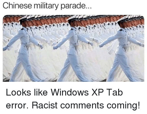 Chinese Military Parade | Funny Meme on esmemes com
