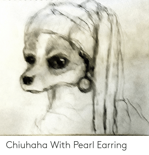 earring: Chiuhaha With Pearl Earring