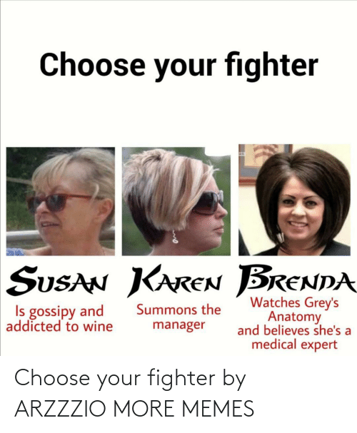 Choose Your: Choose your fighter by ARZZZIO MORE MEMES