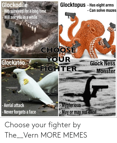 Choose Your: Choose your fighter by The__Vern MORE MEMES