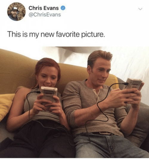 Chris Evans, Picture, and New: Chris Evans  @ChrisEvans  This is my new favorite picture.