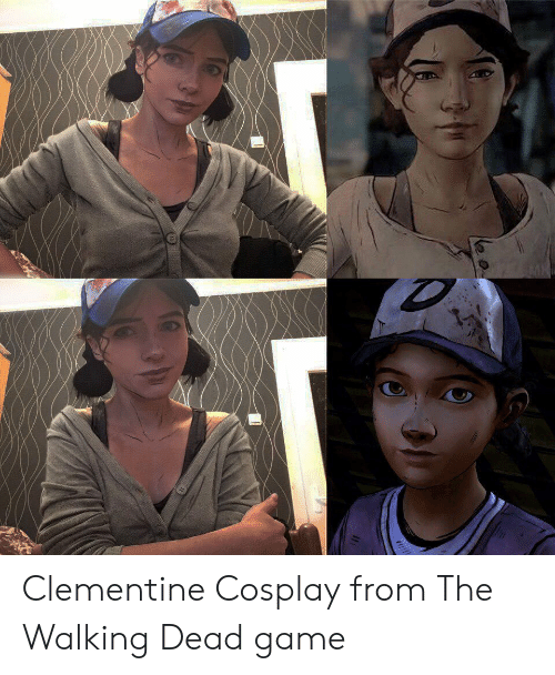 Walking Dead: Clementine Cosplay from The Walking Dead game