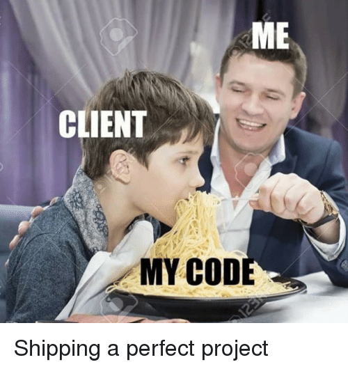 cod: CLIENT  MY COD Shipping a perfect project