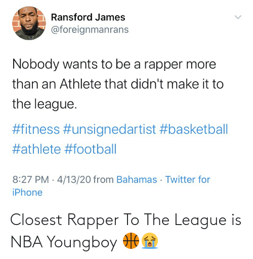 The League: Closest Rapper To The League is NBA Youngboy 🏀😭