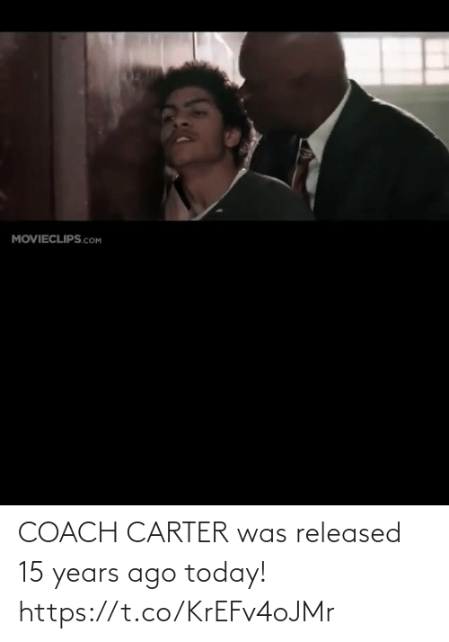 Carter: COACH CARTER was released 15 years ago today! https://t.co/KrEFv4oJMr