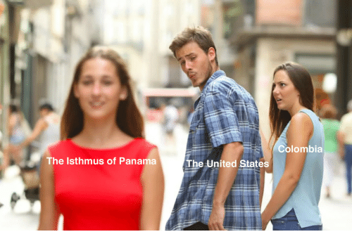 Colombia, Panama, and United: Colombia  The Isthmus of Panama  The United States
