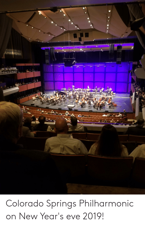 new years eve: Colorado Springs Philharmonic on New Year's eve 2019!