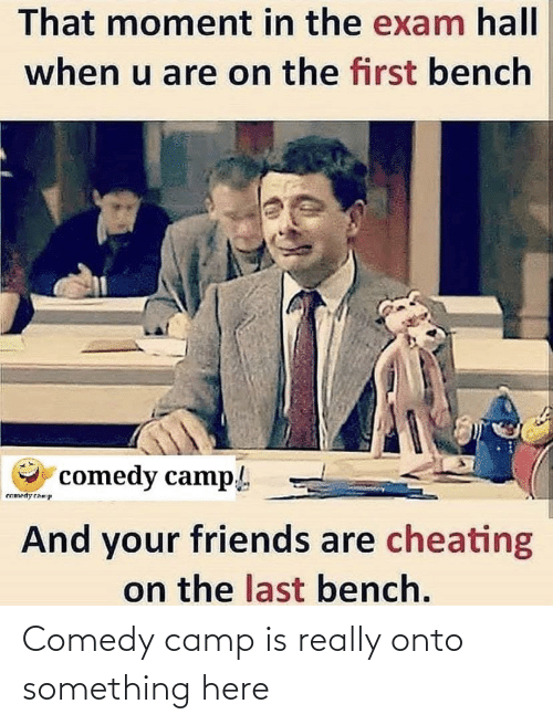 Comedy: Comedy camp is really onto something here