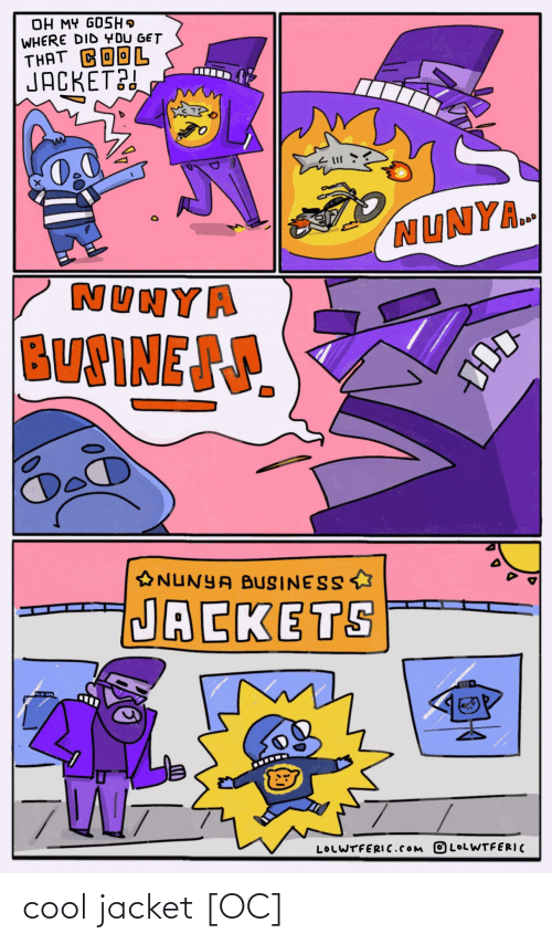 Cool: cool jacket [OC]