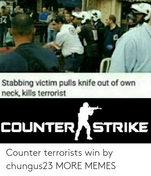 Counter: Counter terrorists win by chungus23 MORE MEMES