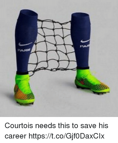 Soccer, This, and Courtois: Courtois needs this to save his career https://t.co/Gjf0DaxCIx