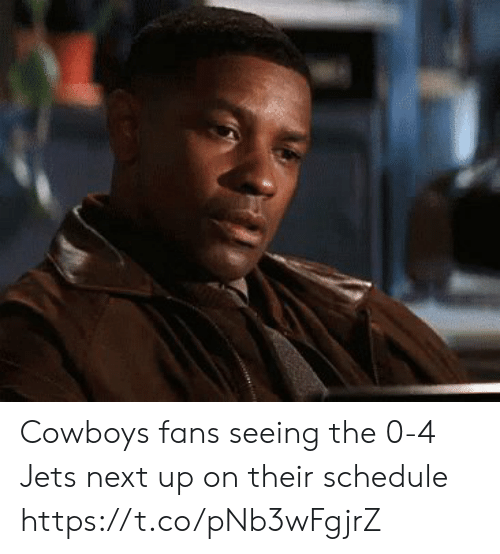 Dallas Cowboys, Football, and Nfl: Cowboys fans seeing the 0-4 Jets next up on their schedule https://t.co/pNb3wFgjrZ