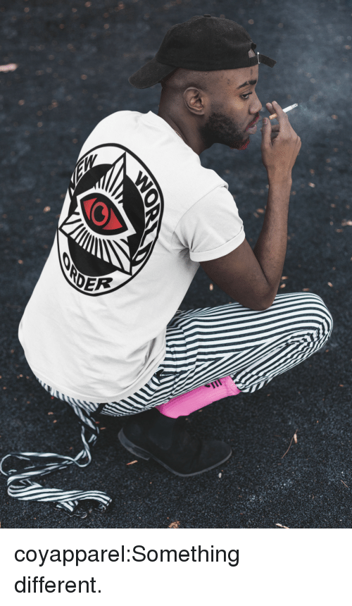 Instagram, Tumblr, and Blog: coyapparel:Something different.