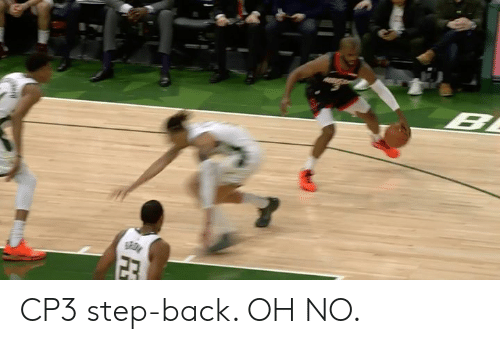 cp3: CP3 step-back. OH NO.