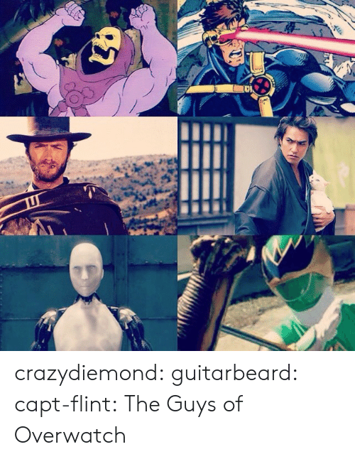 Capt: crazydiemond: guitarbeard:  capt-flint:  The Guys of Overwatch