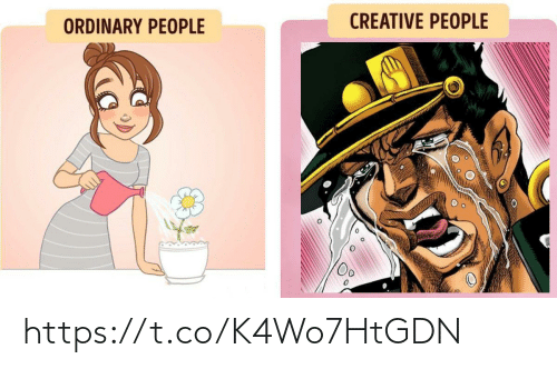 Creative: CREATIVE PEOPLE  ORDINARY PEOPLE https://t.co/K4Wo7HtGDN