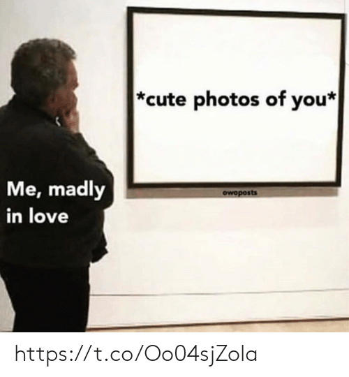Madly: *cute photos of you*  Me, madly  in love  owoposts https://t.co/Oo04sjZola