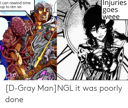 Gray Man: [D-Gray Man]NGL it was poorly done