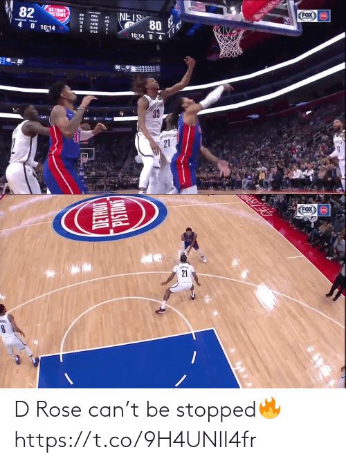 memes: D Rose can't be stopped🔥 https://t.co/9H4UNII4fr