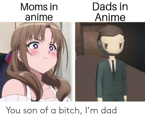Moms: Dads in  Anime  Moms in  anime You son of a bitch, I'm dad