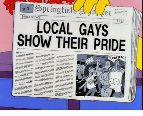 daily news: DAILY NEWS  FREE  LOCAL GAYS  SHOW THEIR PRIDE  PRIDE