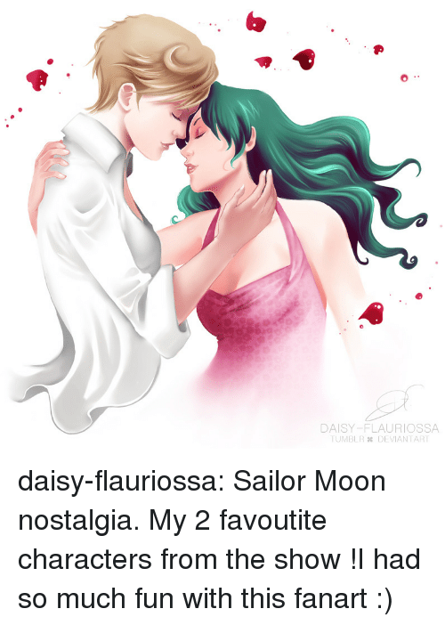 Nostalgia, Sailor Moon, and Target: DAISY-FLAURIOSSA  TUMBLR DEVIANTART daisy-flauriossa:   Sailor Moon nostalgia. My 2 favoutite characters from the show !I had so much fun with this fanart  :)
