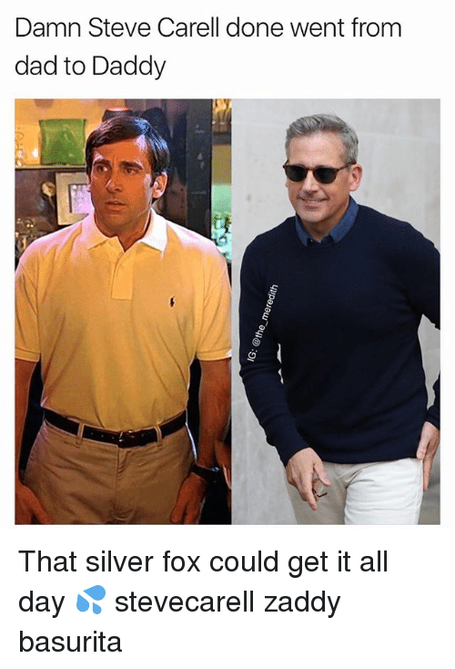 Damn Steve Carell Done Went From Dad To Daddy That Silver Fox