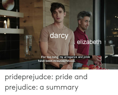 Target, Tumblr, and Blog: darcy  93  elizabeth  For too long my arrogance and pride  have been misunderstood. prideprejudce: pride and prejudice: a summary