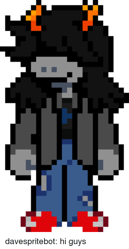 Target, Tumblr, and Blog: davespritebot:  hi guys