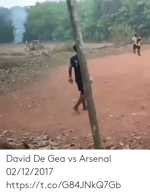 David: David De Gea vs Arsenal 02/12/2017  https://t.co/G84JNkQ7Gb