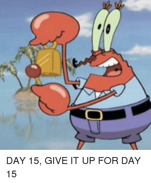 SpongeBob, Day, and For