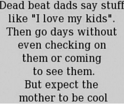 deadbeat dads are not criminals essay Essay express examples of essays and research papers on many topics :: deadbeat parents: important facts and implications [12469].