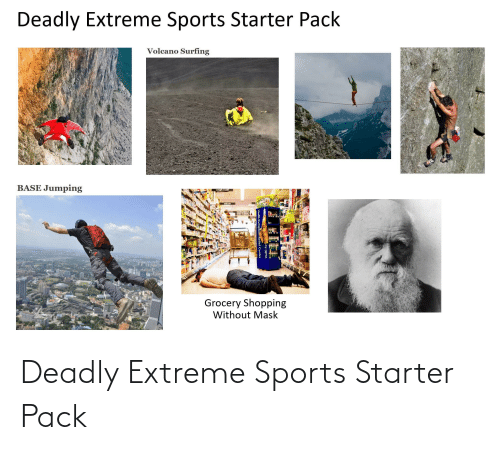 extreme: Deadly Extreme Sports Starter Pack
