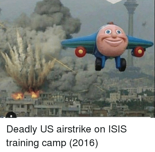 Isis, Camp, and Training: Deadly US airstrike on ISIS training camp (2016)