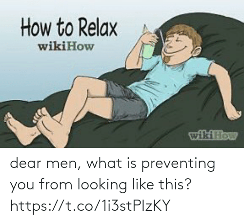 What Is: dear men, what is preventing you from looking like this? https://t.co/1i3stPIzKY