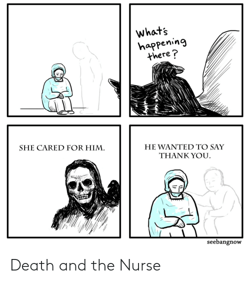 nurse: Death and the Nurse