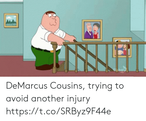 DeMarcus Cousins: DeMarcus Cousins, trying to avoid another injury https://t.co/SRByz9F44e