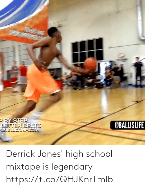 Derrick: Derrick Jones' high school mixtape is legendary https://t.co/QHJKnrTmlb