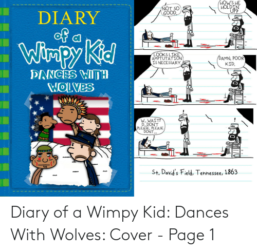 Dances: Diary of a Wimpy Kid: Dances With Wolves: Cover - Page 1