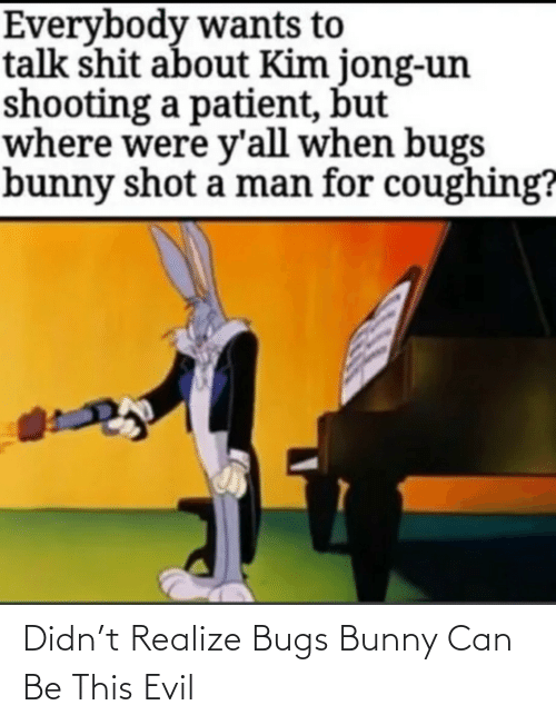 bunny: Didn't Realize Bugs Bunny Can Be This Evil